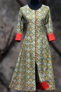 pattern of pakistani kurti printed salwar kameez latest kurti girls designs http