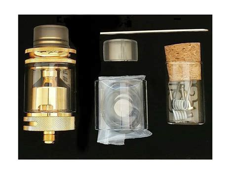 Dotmod Rta Authentic dotmod petri 24mm gold plated postless rta vape society supply