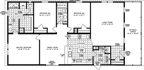 the imperial imp 46019b manufactured home floor plan 1600 to 1799 sq ft manufactured home floor plans