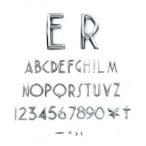 lettere e caratteri lettere e numeri moderno in varie misure caratteri