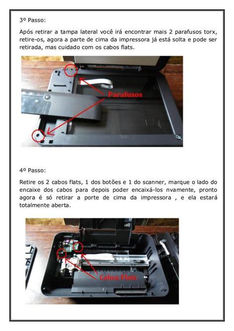 reset da hp deskjet 2050 como desmontar a impressora hp 2050