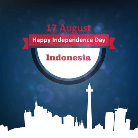 indonesia independence day background for indonesia independence day vector free