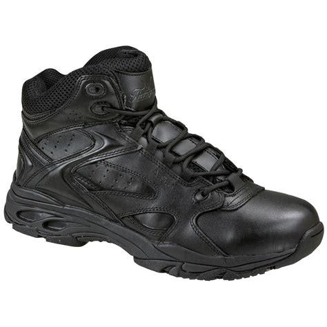 s thorogood 174 slip resistant mid boots black