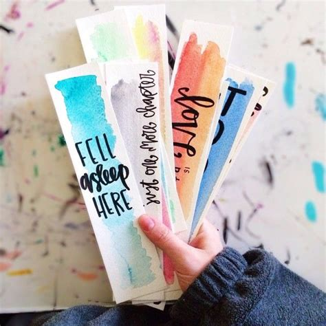 Bookmark Handmade Ideas - 25 best ideas about diy bookmarks on