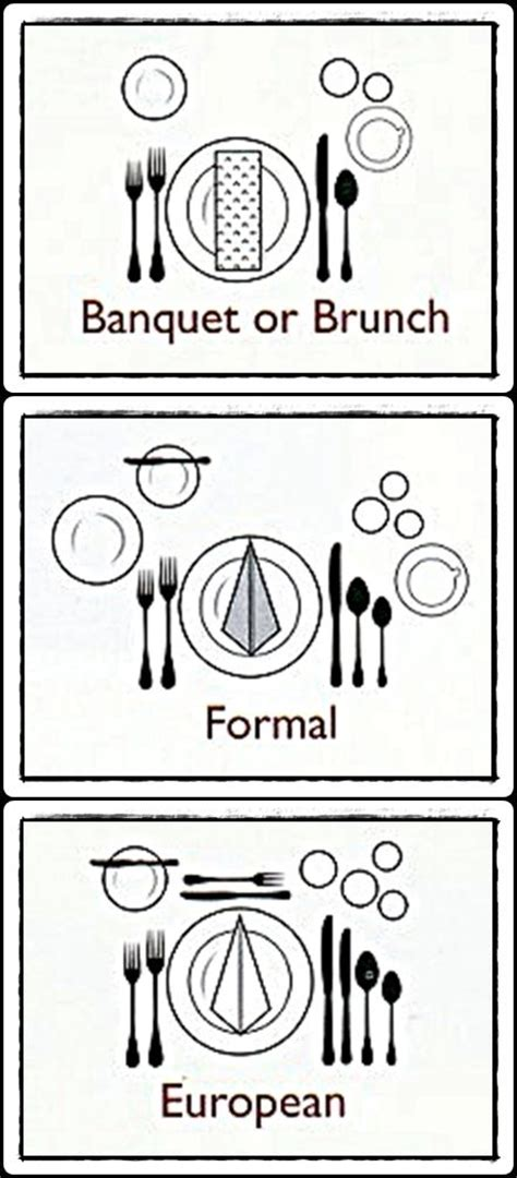 what is the proper way to set a table 56 european table setting etiquette proper place setting