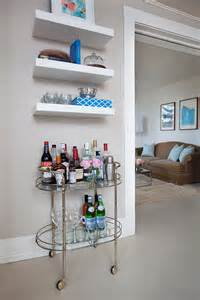 shelves for bar 20 small home bar ideas and space savvy designs