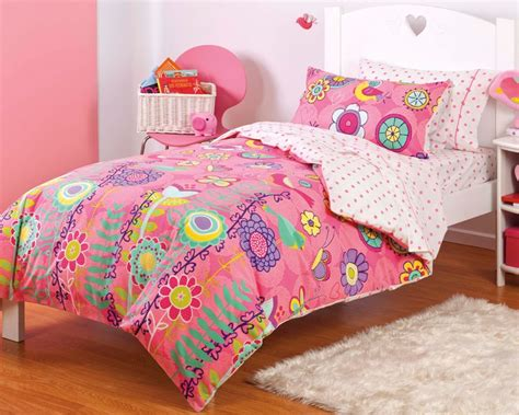 floral twin bedding new girls pink butterfly bird floral twin or full bedding
