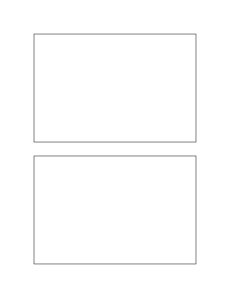 4 x 6 postcard template for card stock postcard template 4x6 inches free