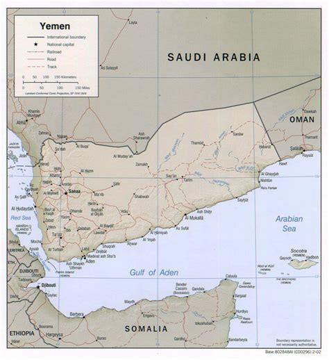 map of yemen cities detailed political map of yemen with relief roads and