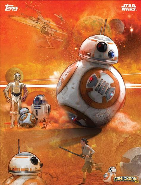 Poster A3 Wars Bb8 check out the new wars the awakens cards from