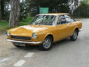 1969 Fiat 124 Coupe 1969 Fiat 124 Information And Photos Momentcar