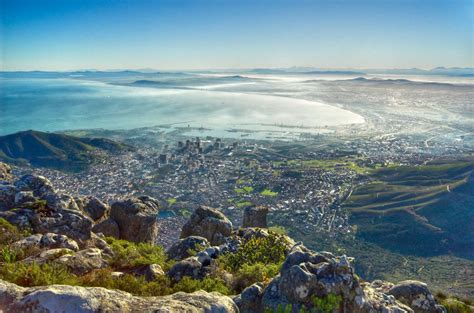 Table Mountain South Africa by Table Mountain South Africa Desktop Wallpapers