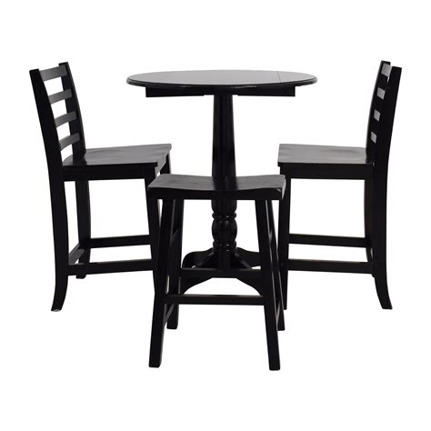 Stool Tables And Chairs by 59 Counter Black Table With Chairs And Stool