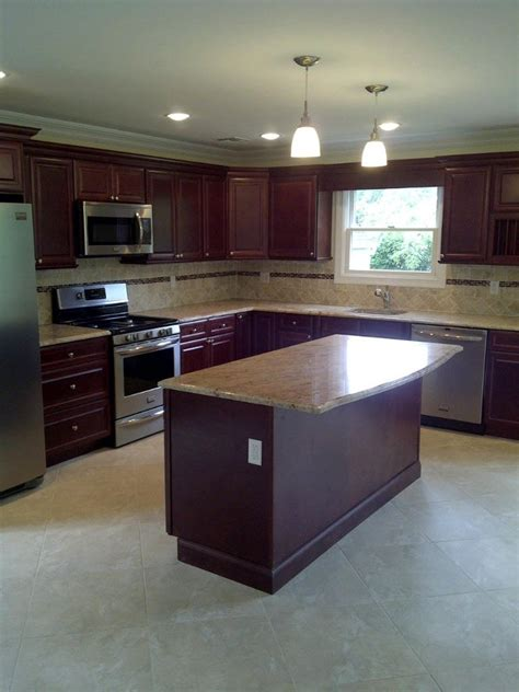 L Kitchen Island L Shaped Kitchen Island Kitchen Traditional With Kitchen Cabinets Kitchen Remodeling
