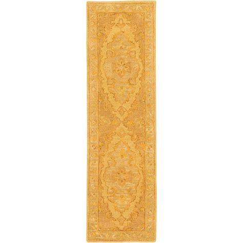rug runners 2 x 14 artistic weavers middleton meadow beige 2 ft 3 in x 14 ft indoor rug runner awhr2059 2314