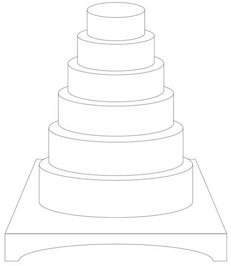 3 tier cake card template 17 best images about cake designing templates on