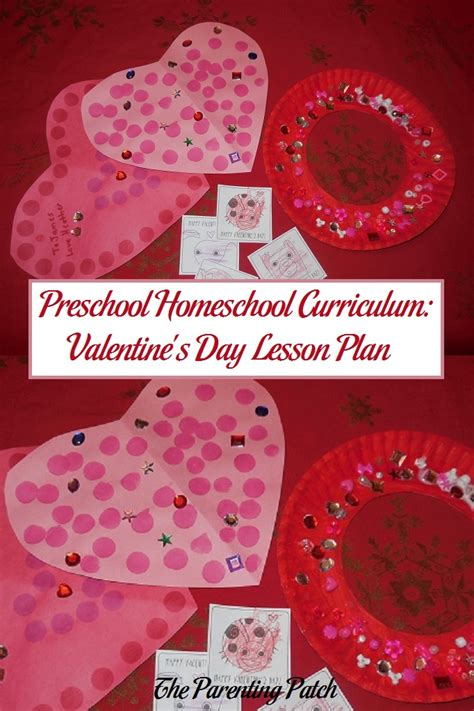 valentines day lesson plans preschool homeschool curriculum s day lesson