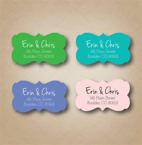 Wedding Invitations Return Address Labels by Ornate Return Address Label Personalized Address Labels