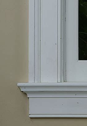 Window Sill Casing Window Moulding How To Like This Method For Cutting The