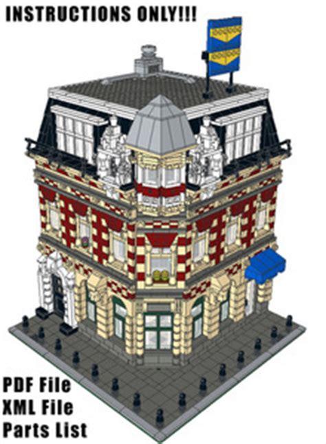 lego modular tutorial brick city depot