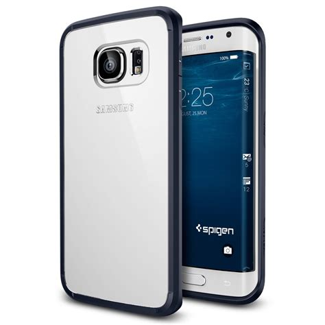The Xx Time Samsung Galaxy S6 Edge Casing Cover Hardcase spigen launches cases for the galaxy s6 edge depicts just one curved side