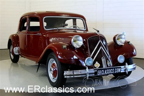 Citroen Traction by Citroen Traction Avant 11cv 1953 For Sale At Erclassics