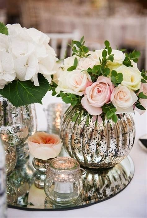 mercury glass centerpieces centerpieces images gallery of