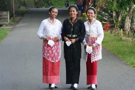 nona ambon kleding mooie mensen batik