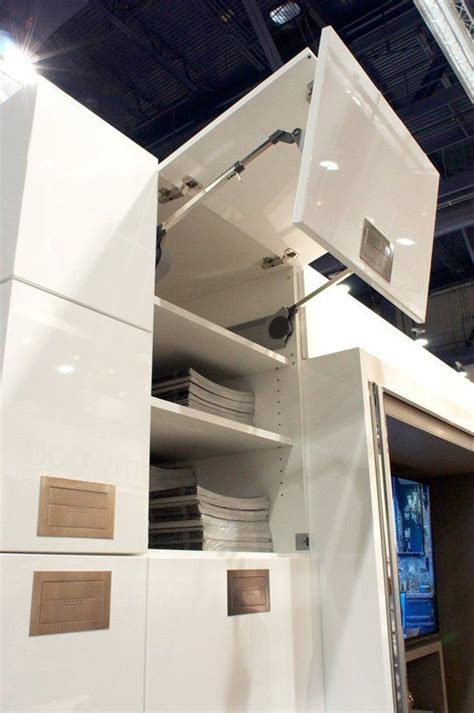 Cabinet Door Lift Systems Kbis Trend Report Lift System Cabinet Doors From Blum Bauformat