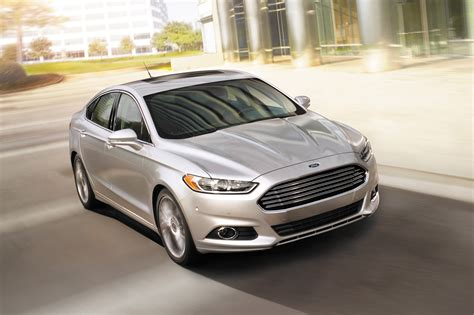 top most comfortable cars 2014 ford fusion front three quarters photo 21