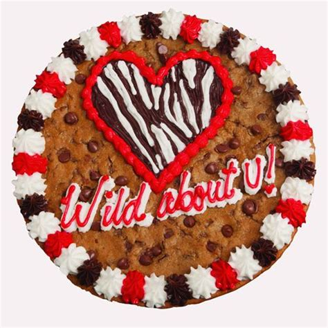 nestle toll house cookie cake sweeten up your valentine with cookie cakes strawberries and salted caramel delights