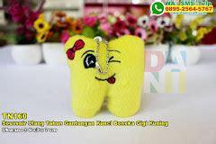 Boneka Gantungan Kunci Kuning souvenir ulang tahun gantungan kunci boneka gajah