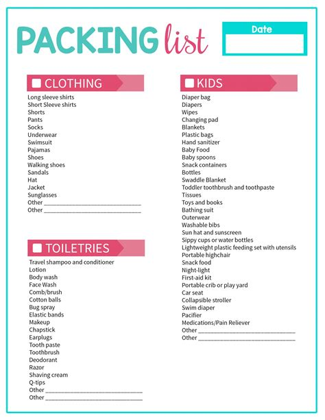 travel checklist travel checklist this is your ultimate vacation packing