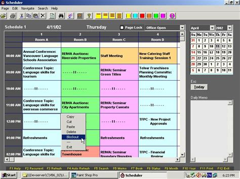 room booking software conference room reservation template excel calendar template 2016
