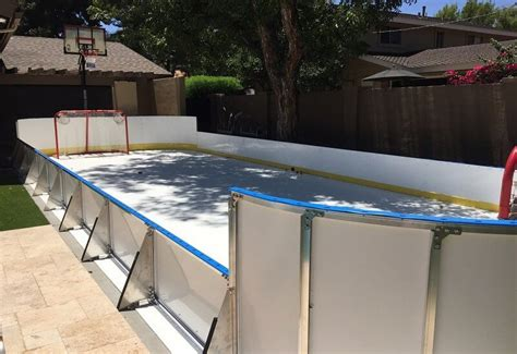 D1 Backyard Rinks by D1 Backyard Rinks Synthetic Basement Or Backyard