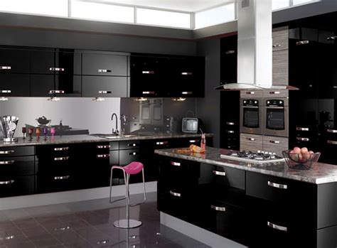 black gloss kitchen cabinets buy 2 get 1 free gloss kitchen units cupboard doors draws self adhesive vinyl ebay