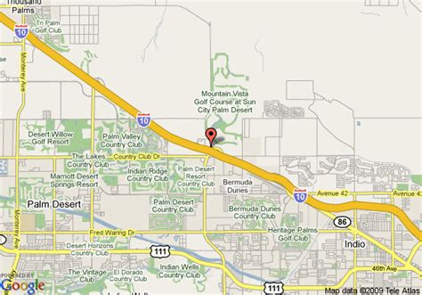 map of palm desert california map of comfort suites palm desert palm desert