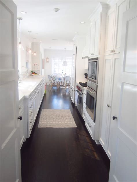 white galley kitchen luxe white galley kitchen kitchens galley