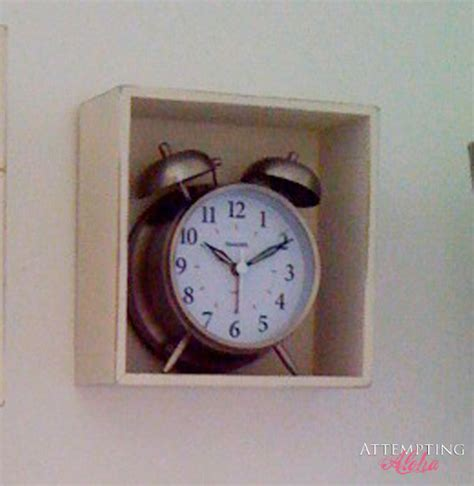 bathroom alarm clock attempting aloha my beach wall shadowbox love