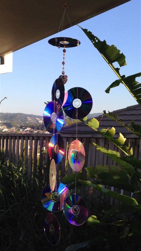 how to keep birds porch recycled cds into sun catcher to keep birds your porch