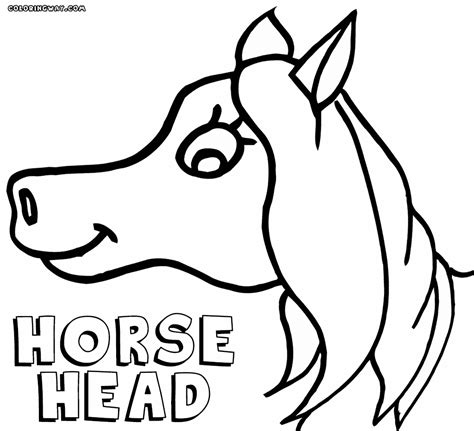 coloring pages of horses heads horse head coloring pages coloring pages to download and