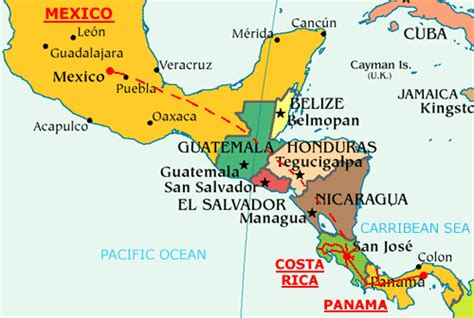map of mexico and surrounding countries firepower dope and bloodshed mexico cartels branch