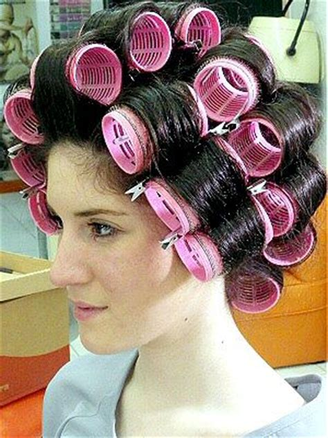 set hairstyles 107 best images about rollers on pinterest roller set