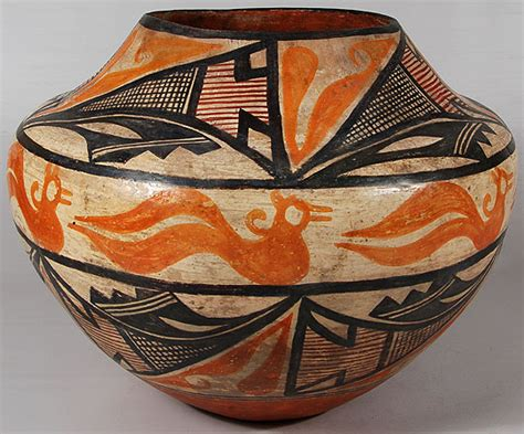 pueblo designs acoma pueblo historic olla with zuni pueblo designs not