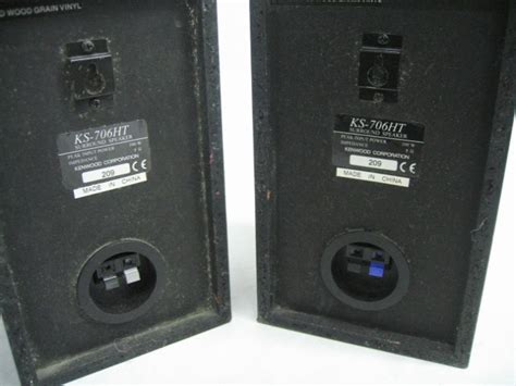 kenwood ks ht home theater system audio speakers ebay