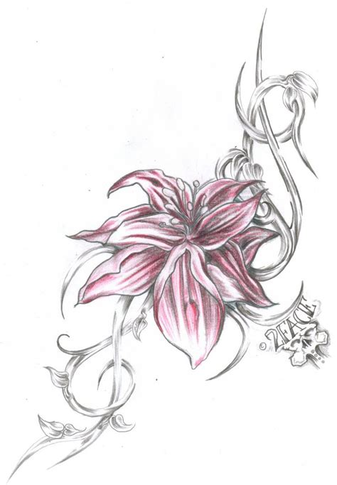 tribal hibiscus flower tattoos only best 25 ideas about tribal flower tattoos on