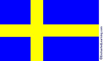 sweden flag colors sweden s flag enchantedlearning
