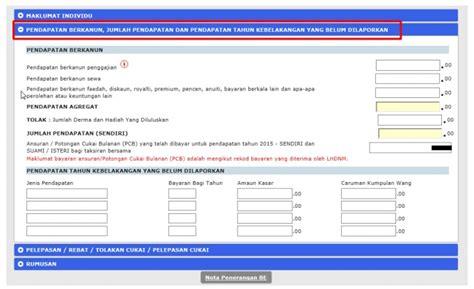 cukai 2015 bila boleh submit bila tarikh akhir e filing 2015 tarikh akhir untuk mengisi