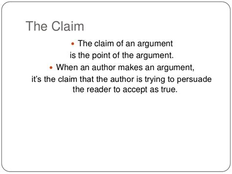 What Is A Claim In An Argumentative Essay by Analyzing And Evaluating Arguments