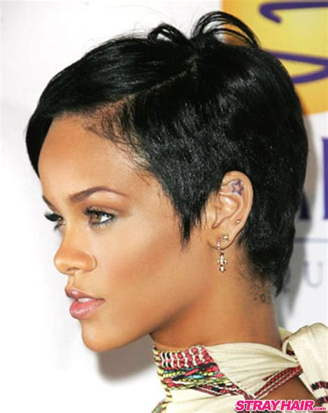 hairstyles rihanna rihannas many great short hairstyles strayhair